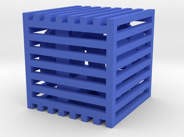 Dice9 in Blue Processed Versatile Plastic