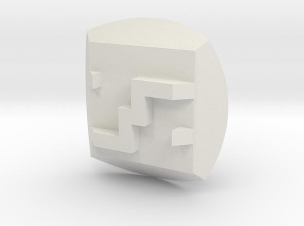 Bionicle - Nuva Symbol - Ice in White Natural Versatile Plastic