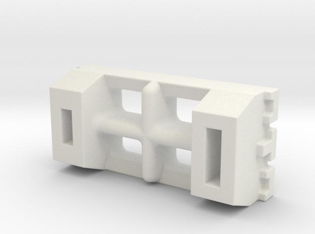 Tamiya 1-72 PT15 Boat Small Cross Box in White Natural Versatile Plastic
