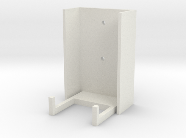 Xbox 360 Controller Wall Mount in White Strong & Flexible