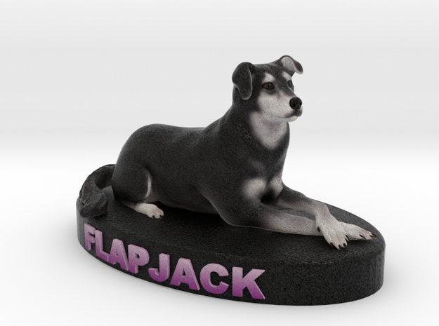 Custom Dog Figurine - Flapjack 3d printed