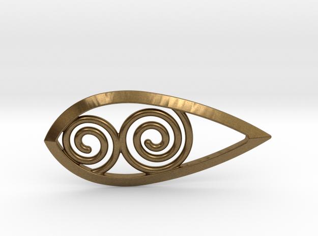 Tear Spiral Pendant