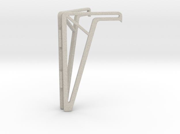 Simple Foldable Phone Stand in Natural Sandstone