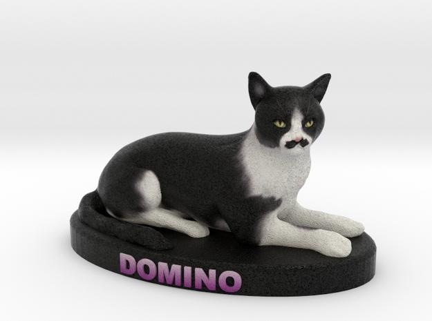 Custom Cat Figurine - Domino 3d printed