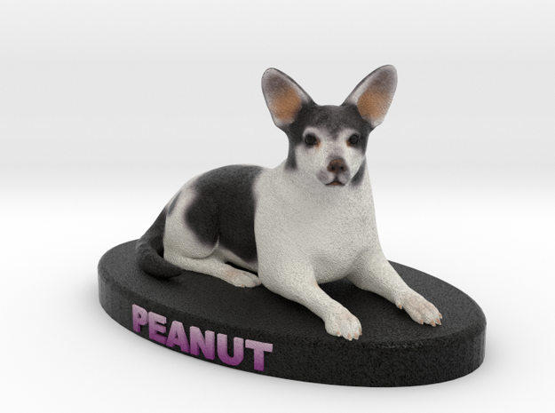 Custom Dog Figurine - Peanut 3d printed