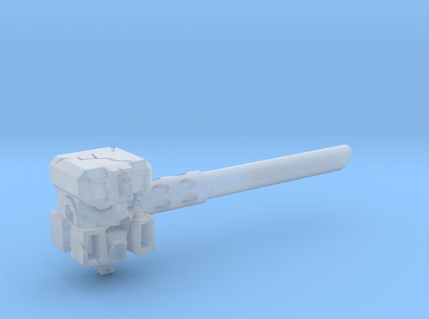 Ignoble Foe - 5mm Makeshift Battle Hammer  3d printed