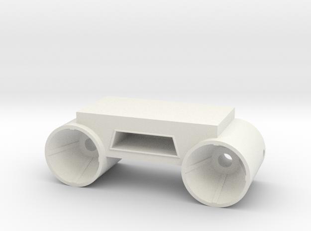 Stern Engines Starboard V0.1 in White Natural Versatile Plastic