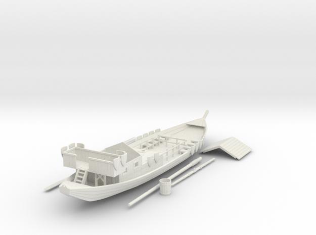 Rivership V2 in White Natural Versatile Plastic