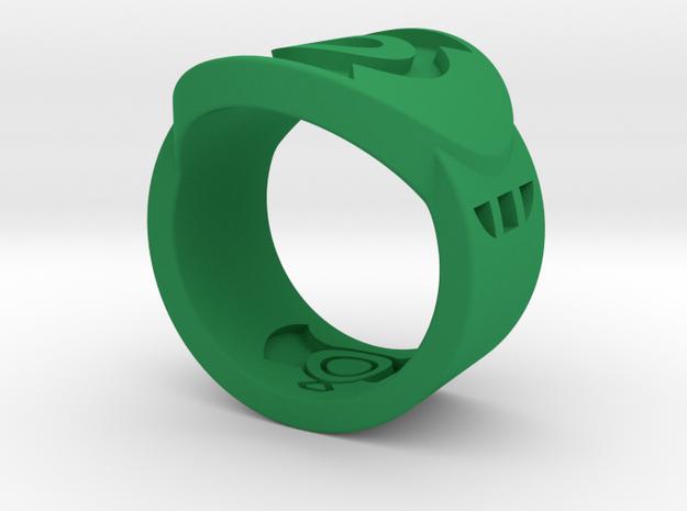 FF GL Sz 6 in Green Processed Versatile Plastic
