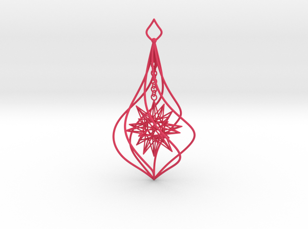 Christmas Tree Ornament (Bauble) - Frost 3d printed Christmas Tree Ornament