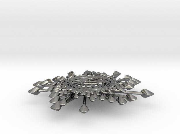 Spinnoloids Firework Pendant by unellenu 7cm 3d printed