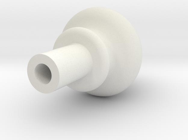 "Spire for .500"" SCH 80 PVC Pipe in White Natural Versatile Plastic"