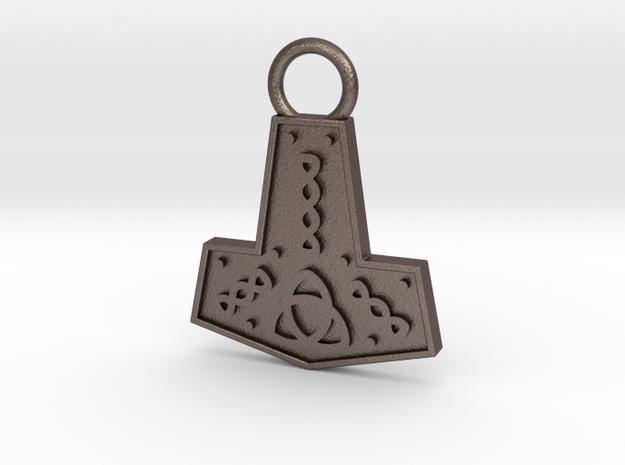 Mjolnir Pendant / Keychain in Stainless Steel
