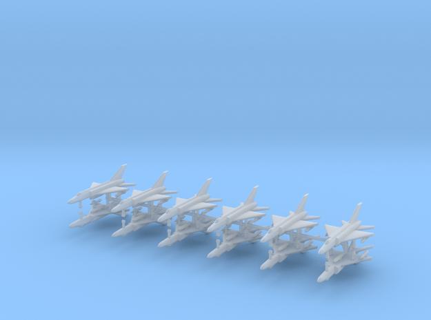1/700 Shenyang J-8 Finback (x12) in Smooth Fine Detail Plastic