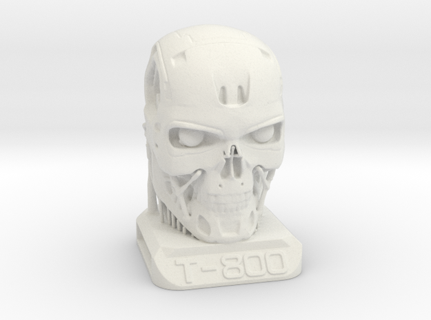 T800 Base Supported 03scale in White Natural Versatile Plastic