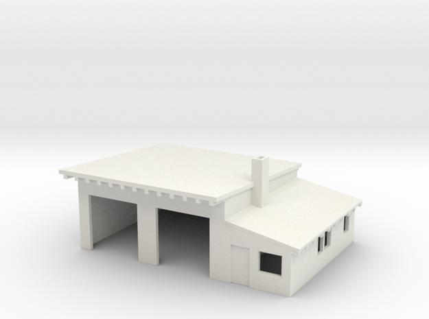 LKW-Garage (Z, 1:220) 3d printed