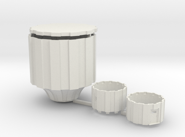 Watertoren 1:160 in White Natural Versatile Plastic