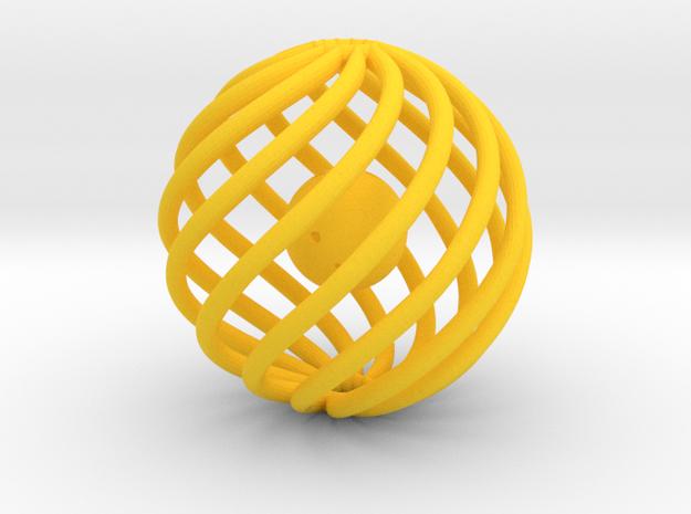 Kodama the Catnip Mini in Yellow Strong & Flexible Polished