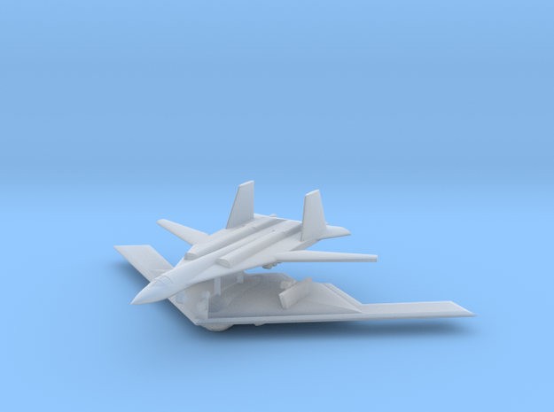 1/700 Stealth Bomber Kit (x2) in Smooth Fine Detail Plastic