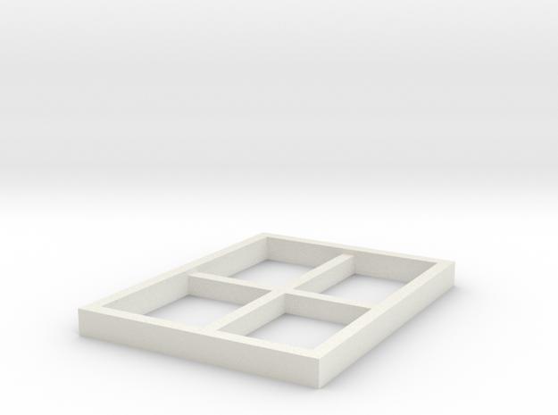 AVS Left Window in White Strong & Flexible