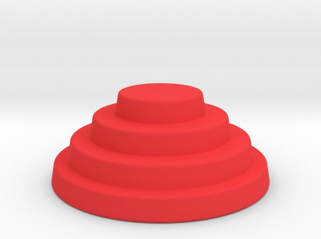 Devo Hat   15mm diameter miniature / NOT LIFE SIZE