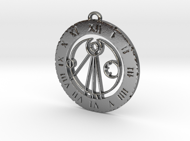 Alfie - Pendant in Polished Silver