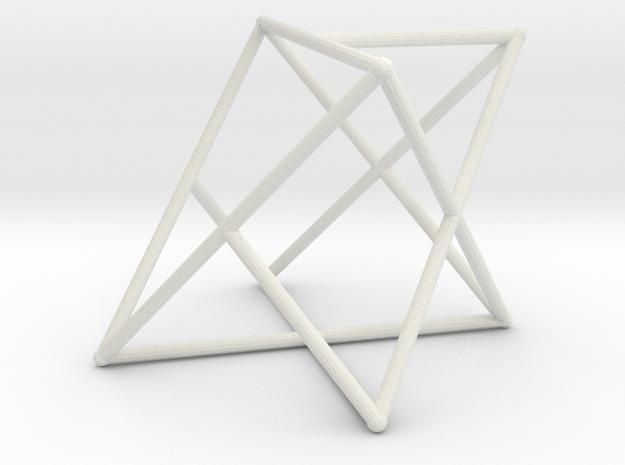 Rod Merkaba OpenBase 2cm in White Natural Versatile Plastic