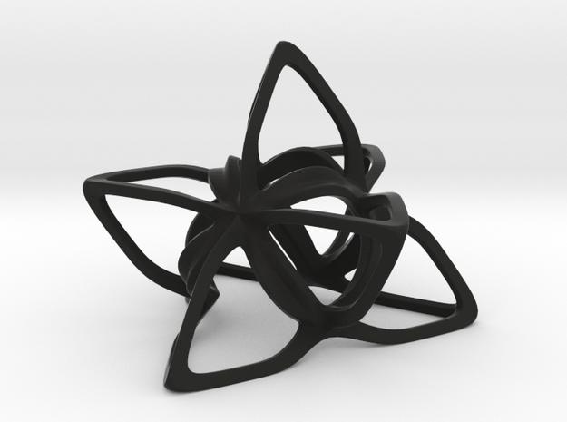 Merkaba Flatbase CurvaciousP - 7cm 3d printed