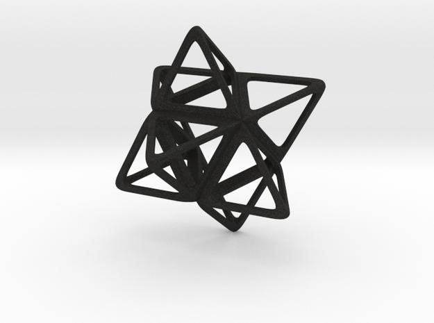 Merkaba Flatbase R1 - 4cm 3d printed