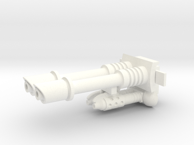 25mm Sci-fi Guns 3d printed