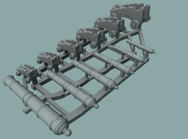 Cannon Sprue  in Smooth Fine Detail Plastic