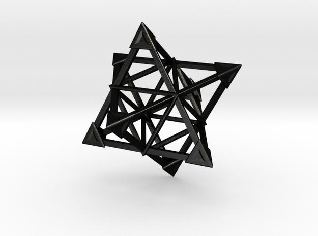 Merkaba Wire 1 Caps 5cm 3d printed
