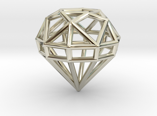 Gem Wire 5 Facets 3cm 3d printed