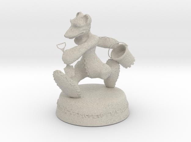 The Greystones Bear in Sandstone