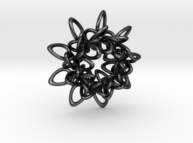 Ring Flower 1 - 4cm 3d printed