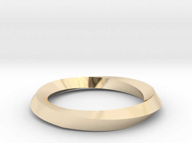 Mobius Wedding Ring-Size 5, multiple sizes listed in 14K Yellow Gold