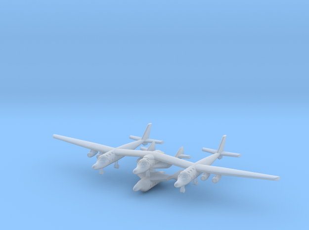 1/700 Virgin Galactic White Knight Two in Smooth Fine Detail Plastic