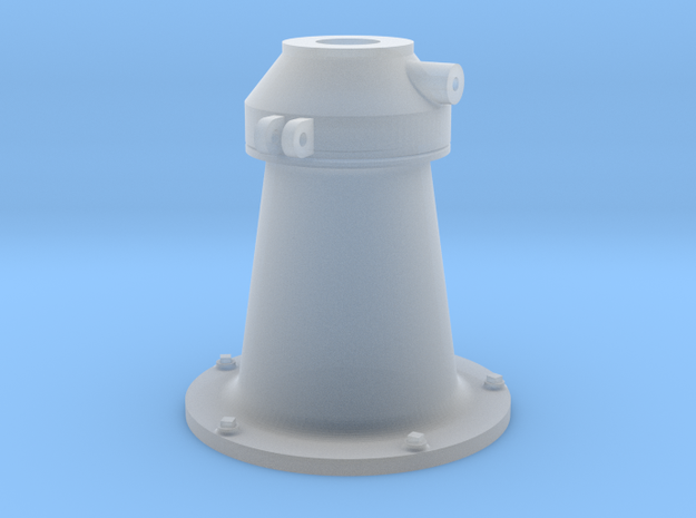 1:16 scale 20mm Gun Pedestal (early, Mk.4) in Smooth Fine Detail Plastic