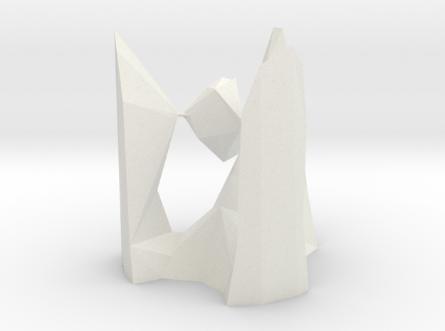 architekton with A2 and 2 - A1 singularities  in White Natural Versatile Plastic