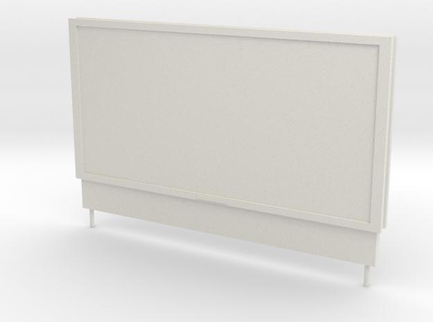 O Gauge Poster Board in White Natural Versatile Plastic