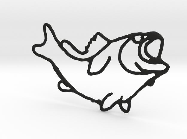 Largemouth Bass 3d printed