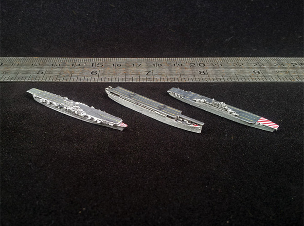 48IT06 Italian Navy WWII Aircraft Carriers in Smooth Fine Detail Plastic