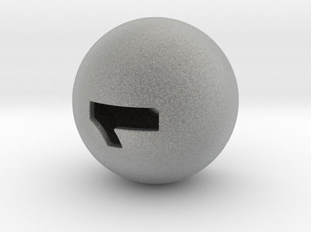 D1 in Metallic Plastic