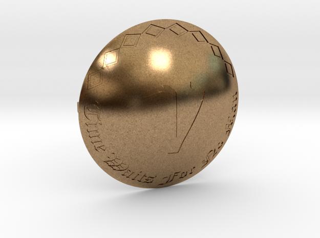Voyagers Omni Belt Buckle in Raw Brass