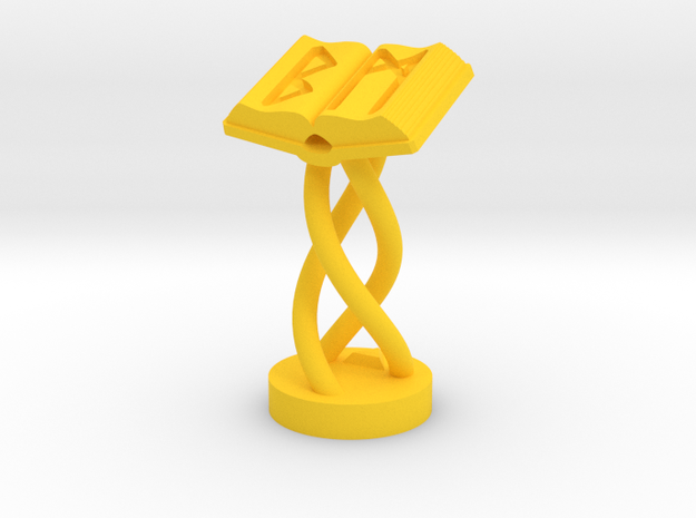 Role Playing Counter: Magic Tome 3d printed