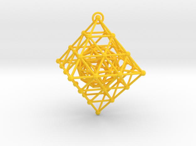 Diamond Spinning Ornament 3d printed