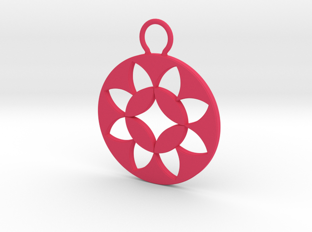 """Okashippo"" Japanese single ornament 3d printed"