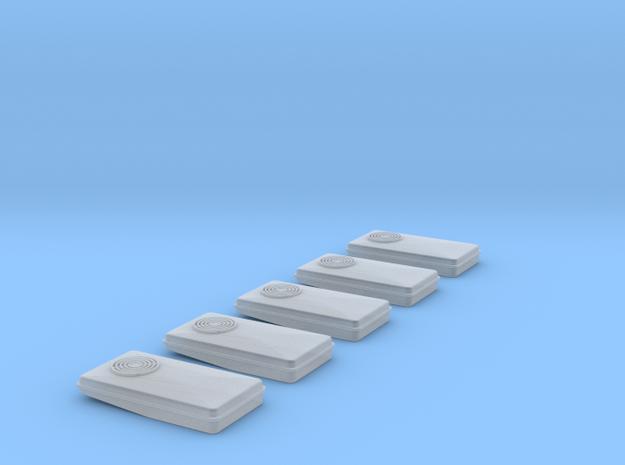 Dachklima FFM 5Stück in Smooth Fine Detail Plastic