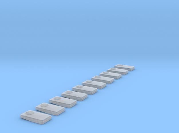 Dachklima FFM 10Stück in Smooth Fine Detail Plastic