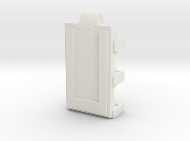 DNA40 Cradle v2 in White Natural Versatile Plastic